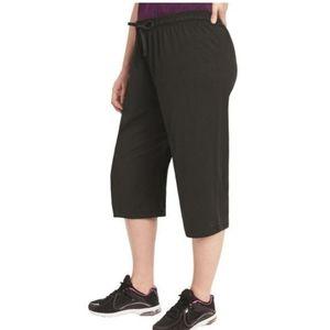 Champion Womens Plus Running Fitness Capri Pants